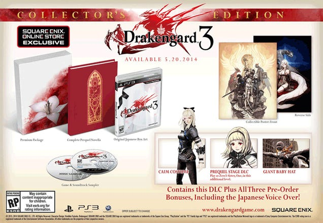 Drakengard 3 Comes To North America In May. Preorder Now Or Else.