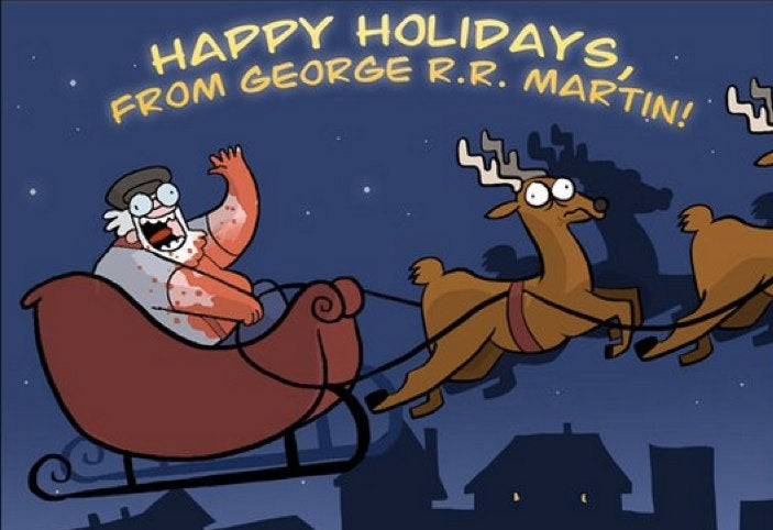 This is EXACTLY what would happen if George R.R. Martin was Santa Claus