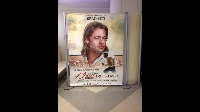 In This Italian Theater, 12 Years A Slave Is a Brad Pitt Movie
