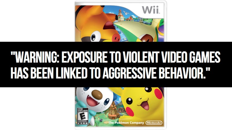 Congressman Really, Really, Really Wants To Slap Cigarette-Style Warning Labels On Video Games