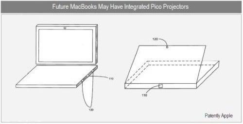 Apple Patent Reveals MacBook Pro Pico Projectors