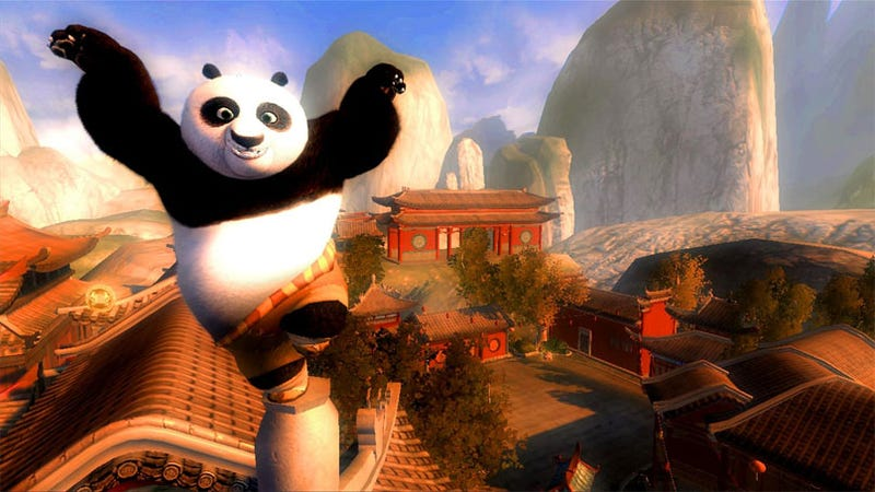 Kung Fu Panda Had The Best Video Game Animation Of 2008. Conversation Over.