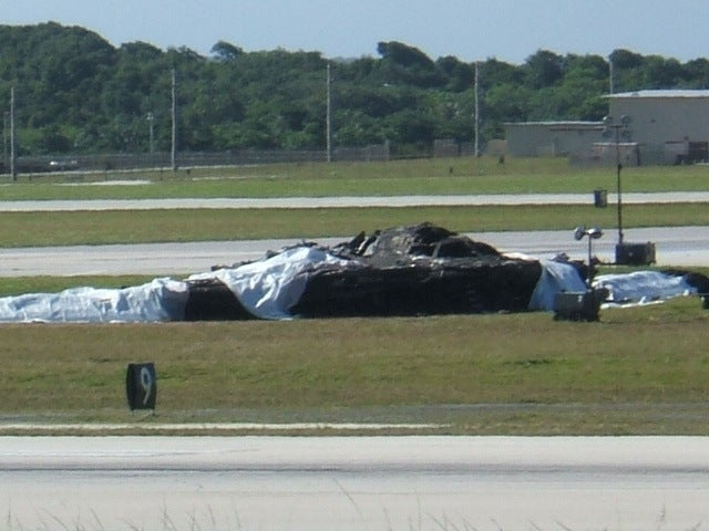 This is What a Wrecked $1.2 Billion B-2 Bomber Looks Like