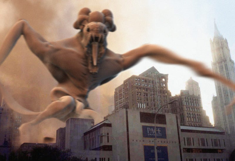 The Evolution Of The Cloverfield Monster