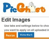 PicGhost Bulk Resizes and Watermarks Your Images