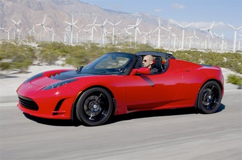 Tesla's Roadster 2.5 Electric Car Now Has a Touchscreen and Rear Video Camera