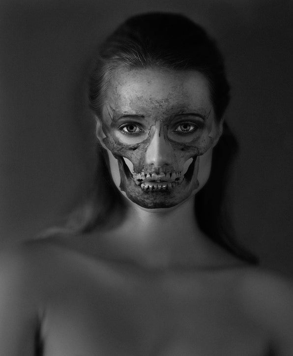 These skull portraits are hauntingly beautiful