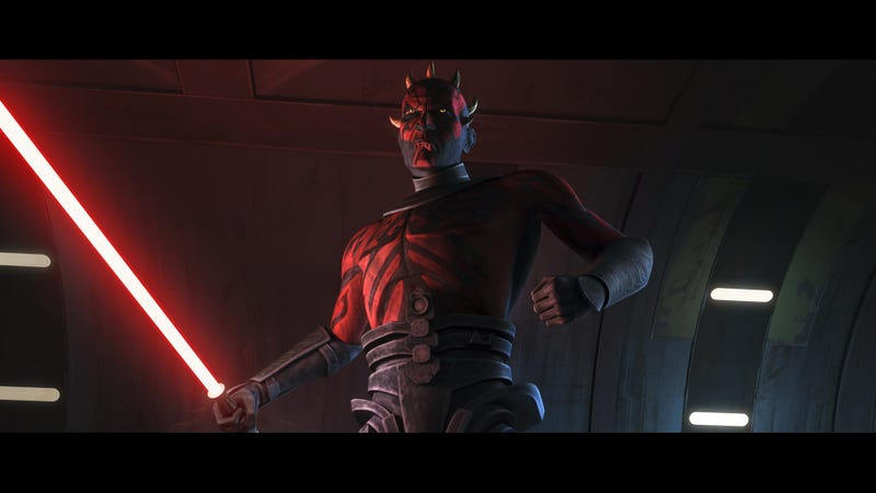 New Clone Wars clips show just how much trouble Darth Maul will cause