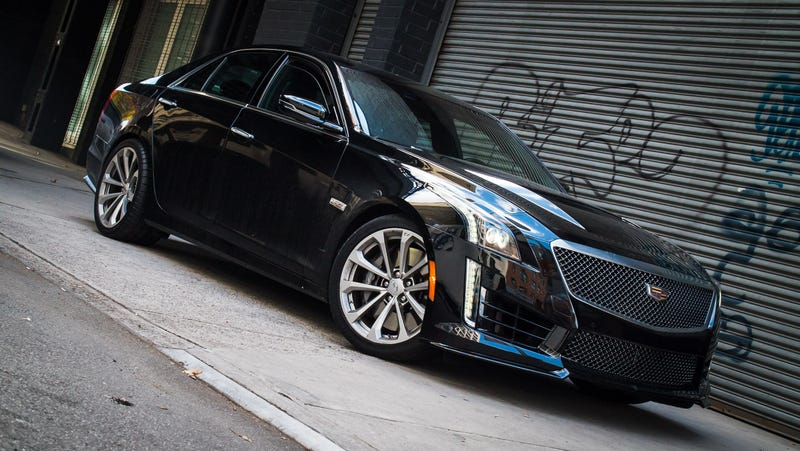 The 2016 Cadillac CTS-V Is Crazier Than Any Hellcat