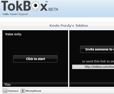 In-Browser Video Chat with TokBox
