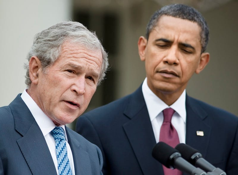 Bush: 'I'd Have Endorsed Obama If They'd Asked Me'