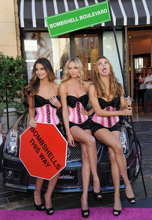 One Out Of 3 Victoria's Secret Models Is Totally Crazy