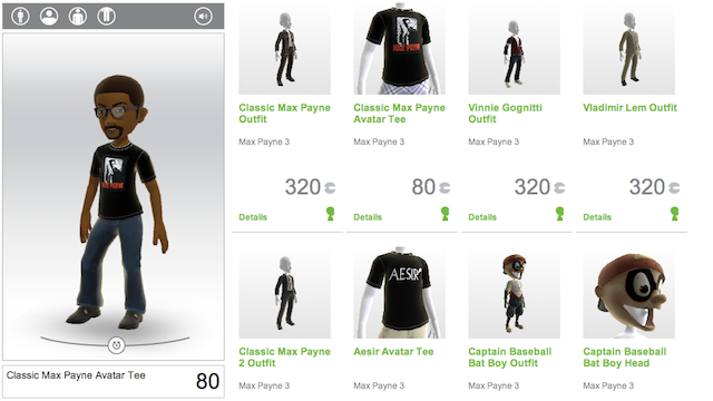 Make Your Xbox 360 Avatar Really Damn Hard-Boiled with These Max Payne 3 Items