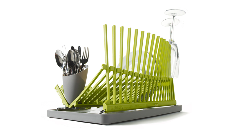 A Structural Dish Rack Makes You Forget You're Doing Dishes