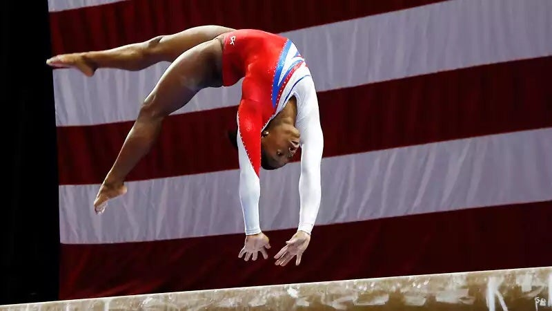 TV Alert: Simone Biles Defends her National Championship