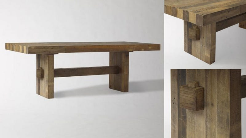 Pack All Your Pals Around This Beautiful Wooden Dining Table
