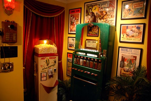 DIY 50s Theater Room Gallery
