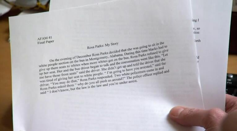 This UNC Athlete's Paper Is A Joke. Who's To Blame?