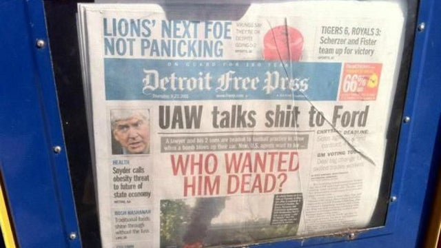 Detroit Free Press accidentally prints great headline