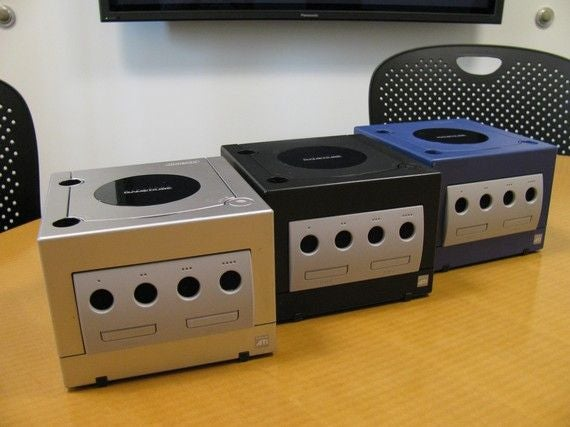 Old GameCubes Get An Extra Life In Office Supplies