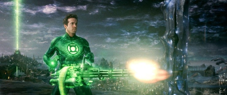 Why the hell didn't the Green Lanterns pick Superman?