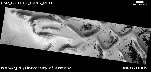 The Mysterious Honeycomb Structures on Mars