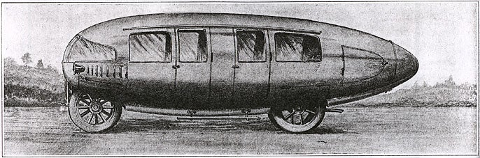 Future Car of 1913 Predicts Future Car of 1933