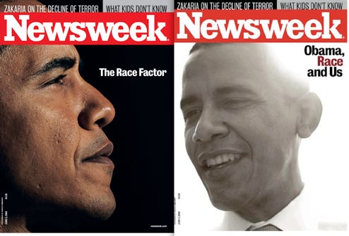 Did Editor's Scolding Wife Spike Newsweek Obama Cover?