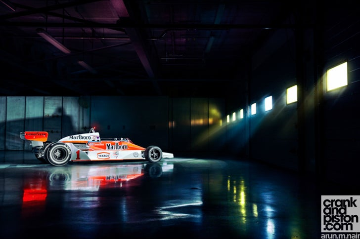 Teaser video: shooting James Hunt's McLaren in Dubai