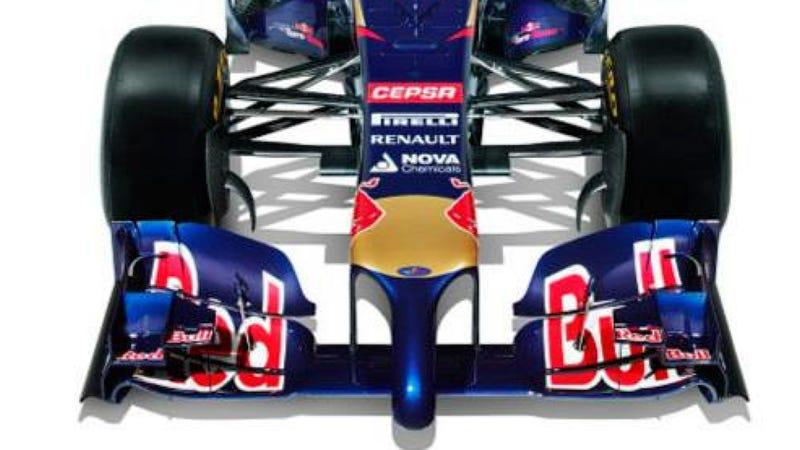 Scuderia Toro Rosso's New F1 Car Is Hung Like A Horse