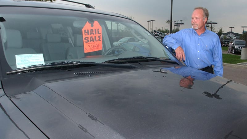 Why Car Dealerships Actually Love Hail Storms