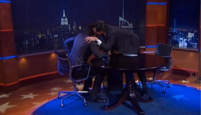 James Franco Couldn't Trick Stephen Colbert Into Breaking Character