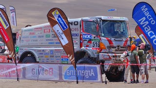 Watch The Best Big-Truck Racing And Rollovers At The 2015 Dakar Rally