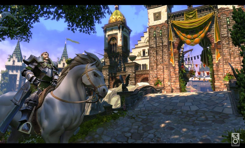Leaked Copernicus Screens Look Like a Futuristic World of Warcraft