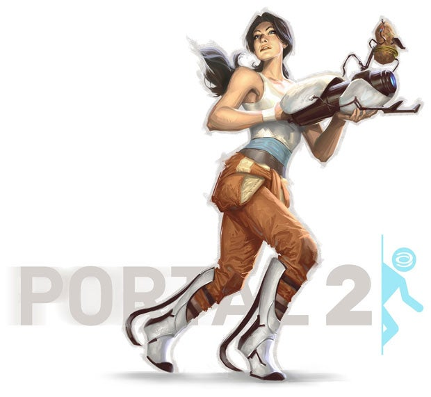 Portal 2's Chell has Never Looked Better