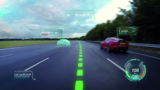 This Windshield Turns Your World Into Gran Turismo