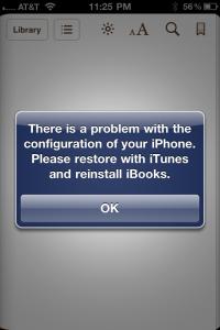 Apple Breaking iBooks on Some Jailbroken iPhones