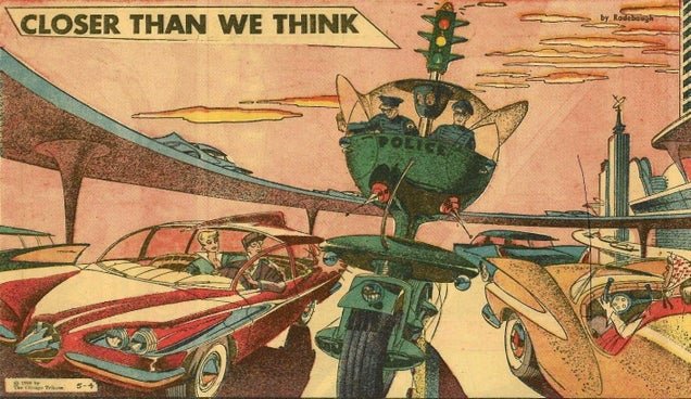 This Cop Car of the Future From 1958 Was Pretty Intimidating
