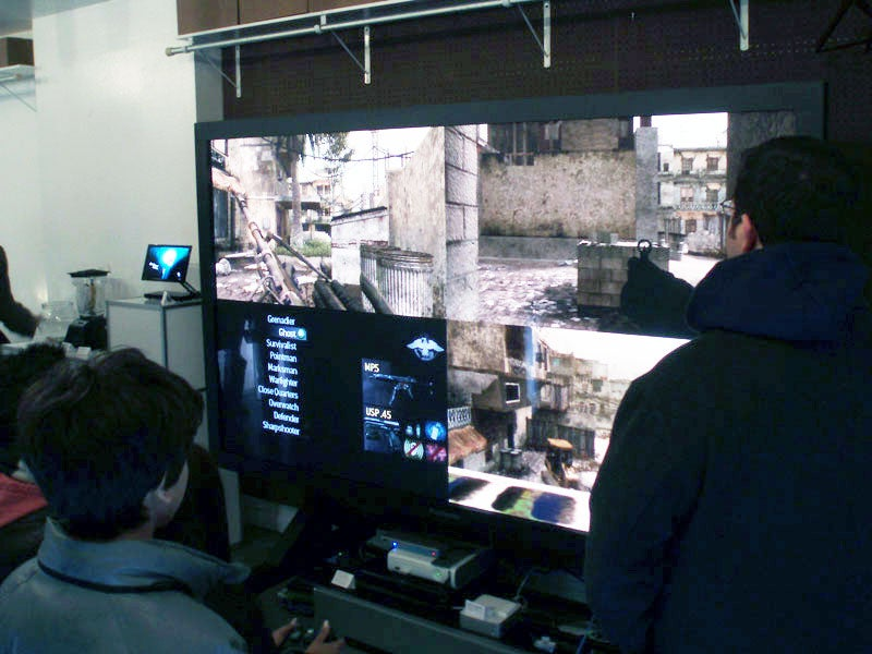 Gaming On A 103-Inch Plasma Television, Or Why You Should Embrace Split-Screen Multiplayer Again