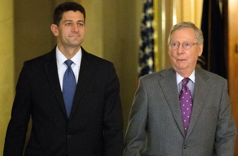 GOP Leaders Very Supportively Denounce Donald Trump's Policies, Comments