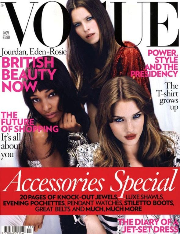 British Vogue Can't Tell Asian Models Apart