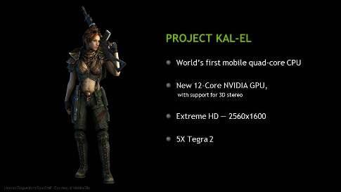 Nvidia's Quad-Core Tegra 3 Chipset Can Handle 1440p Video