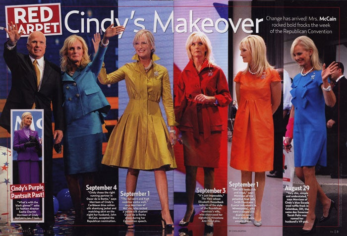 Cindy McCain's Fashion: Change Or More Of The Same?