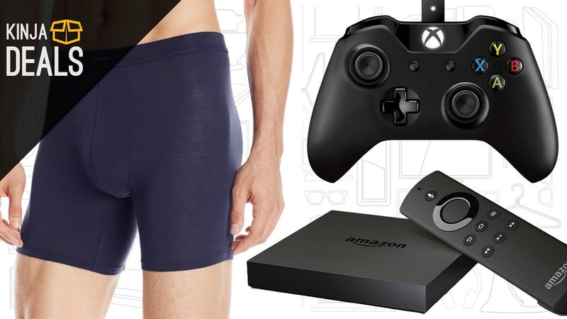 Sunday's Best Deals: Calvin Klein, 4K Fire TV, Xbox One Windows Gamepad, and More