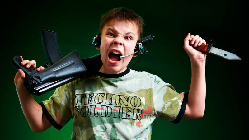 Fake Gamer of the Week: Why Can't Techno Soldier Control His Rage?