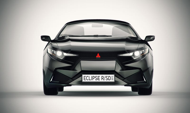 Designer Makes New Mitsubishi Eclipse For Those Who Want It To Be 2001