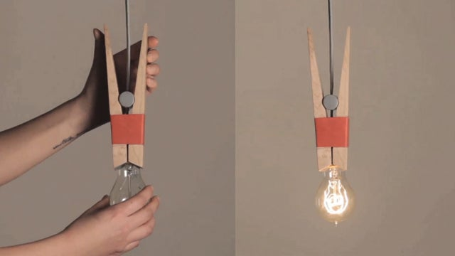 How Many Pegs Does it Take to Hold a Light Bulb?