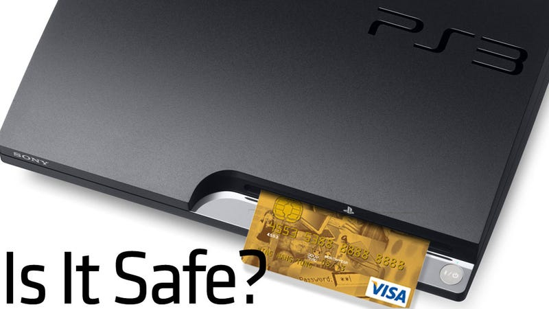 Sony Doesn't Know Yet If Your Credit Card Number Was Stolen