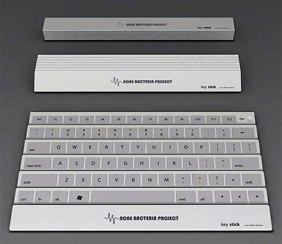 Keystick Keyboard: The Hypochondriac's Data Entry Tool