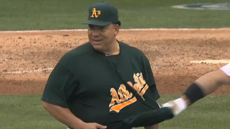 Albert Pujols Gets Robbed At The Wall, Tries To Undress Bartolo Colon
